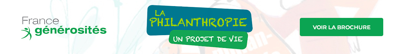La philanthropie - Un projet de vie