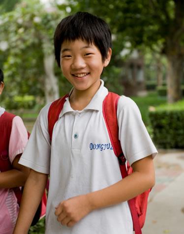 Chao, accueilli dans un village SOS en Chine