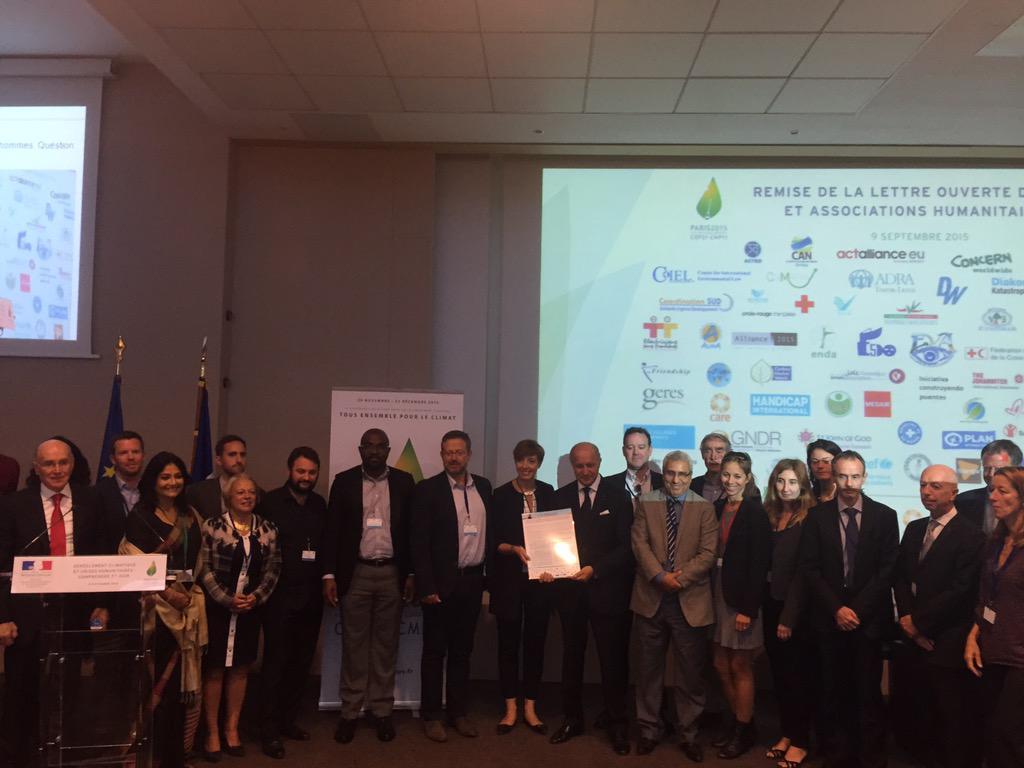 Dérèglement climatique : SOS Villages d'Enfants a signé la lettre  des ONG « Il est temps d'agir »