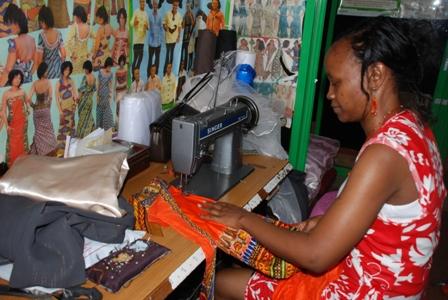 Janet, ancienne d'un village SOS du Kenya