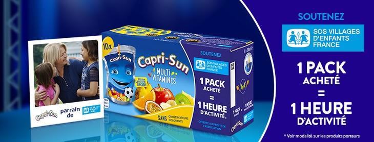 Pack et Pub Capri-sun