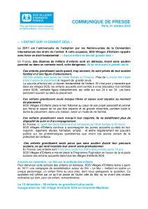 CP Journée Internationale des Droits de l'Enfant